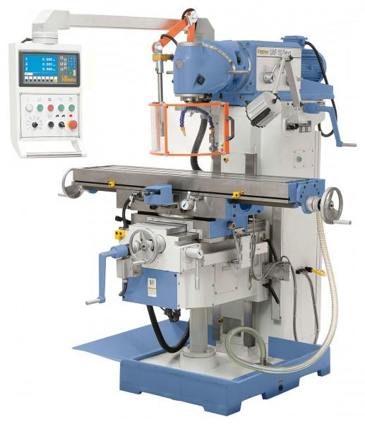 Bernardo Universalfräsmaschinen mit Servoantrieb für Vorschübe UWF 110 Servo Z-02-1282XL-1